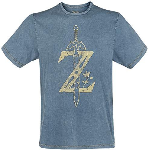 Zelda: Breath of the Wild Zelda - Faux Denim T-shirt