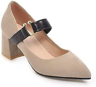 BalaMasa Womens APL12431 Leather Heeled Sandals