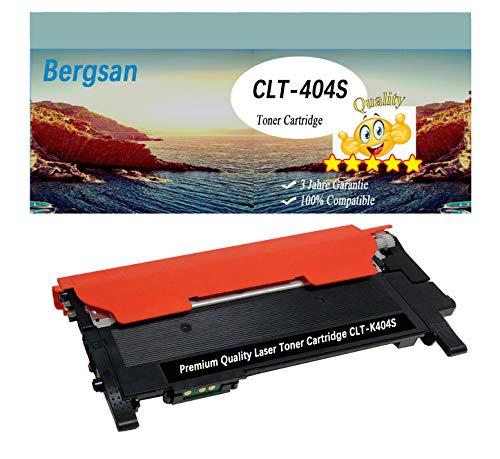 Bergsan Tóner XL compatible con Samsung CLT-K404S compatible con Samsung Xpress C430 C430W C480 C480W C480FN C480FW Xpress SL-C430 SL-C430W SL-C480 SL-C480W SL-C480FN SL-C480FW