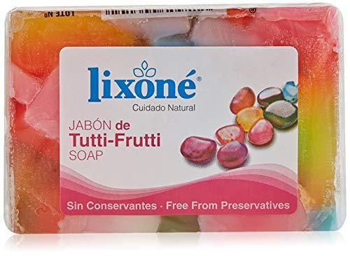 Lixone Jabón de Tutti-Frutti - 3 Unidades