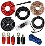 SoundBox 0 Gauge Amp Kit Amplifier Install Wiring Complete 0 Ga Installation Cables 5000W
