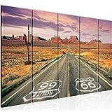 Bild Route 66 Grand Canyon Kunstdruck Vlies Leinwandbild