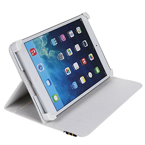DANYSTAR Custodia Cover Universale 7' per Tablets (Bianco)