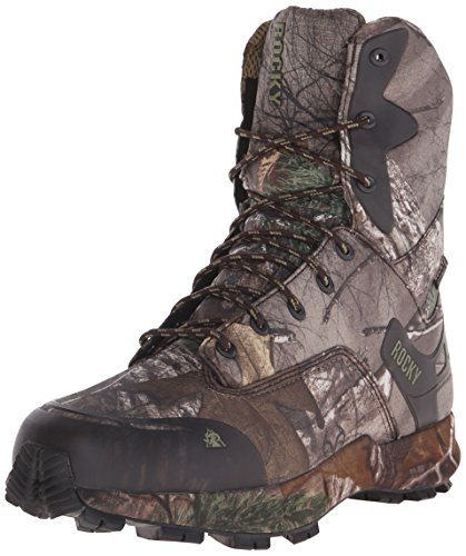 Rocky Men's RKS0184 Mid Calf Boot, Realtree Xtra Camouflage, 8 W US