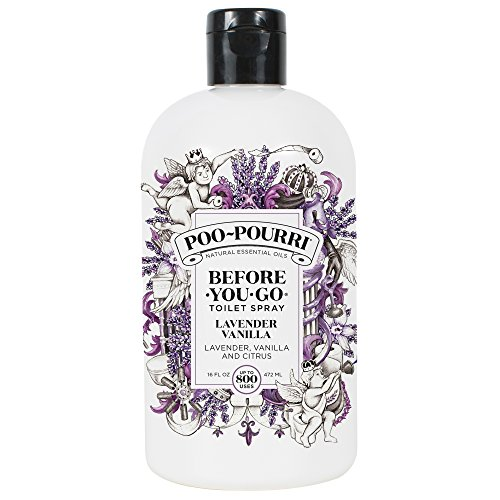 Poo-Pourri Before-You-go Toilet Spray,Lavender Vanilla Scent, 16 Fl Oz