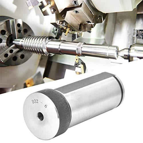 CNC-Drehmaschine Fräsdrehmaschine Fräshalter 40Cr Verlängerungsstange Hochwertiger Stahlwerkzeughalter Federzange für Bohrmaschinen für CNC-Graviermaschinen(D32-6)