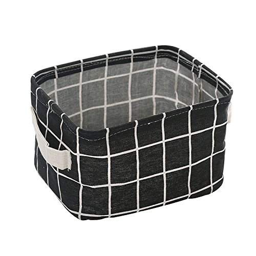 Cestino porta lenzuola Cestello portaoggetti snack Cestello portaoggetti da tavolo Cestello portagiochi e cesto portaoggetti nero