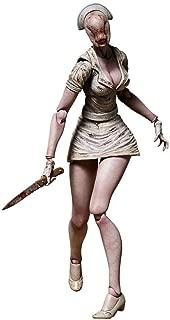Enfermera Silent Hill 2 No Face Espuma Jefe Enfermera Puede Mover 5,9 Pulgadas de PVC