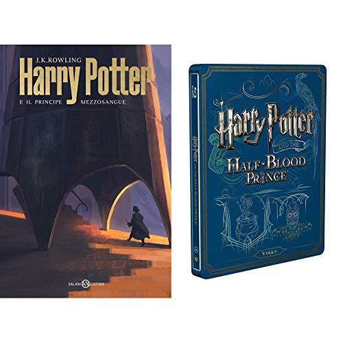 Harry Potter E Il Principe Mezzosangue (Steelbook + Libro)