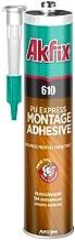 Akfix 610 PU Express Montage Adhesive Transparent