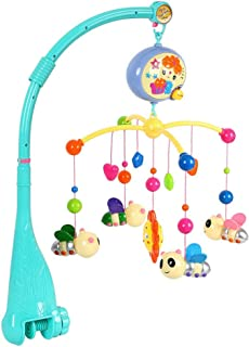 Anniston Kids Toys, Kid Baby Musical Crib Bed Cot Mobile Bee Animal Pendants Nusery Lullaby Toy Baby Toys for Children Tod...
