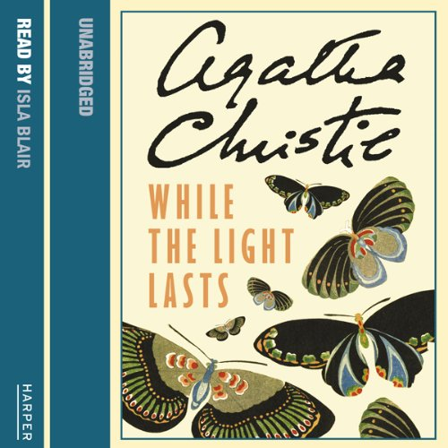 While the Light Lasts audiobook cover art