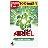 Ariel Vollwaschmittel Pulver, 6500g, 100Waschladungen [Auslaufmodell]