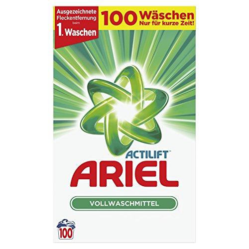 Ariel Vollwaschmittel für 100 Waschladungen
