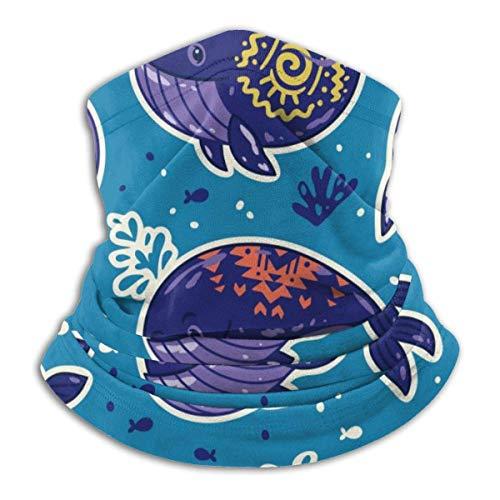 Any Way Halswärmer Camo Whale Lustige Unterwasser Hals Gamasche Rohr Ohrwärmer Stirnband Schal Sturm Sturmhaube