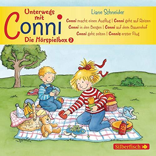 Unterwegs mit Conni - Die Hörspielbox (Meine Freundin Conni - ab 3): 3 CDs