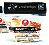 High-Quality Semi-Soft Halloumi Style Cheese High Melting Point - Cheese That Grills! Watch Our Video Below Contains 3 Individual 7oz. Pieces For a Total of 21oz. Made Fresh - Serving the North American Ethnic Community For Over 25 Years Delicious Ad...