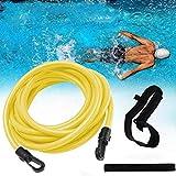 3T6B Elastico per Nuoto Trattenuto, Corda Elastica per l'allenamento di Resistenza Speciale per Il Nuoto con Cinghie, Cinturino di Tensione per Allenamento Freestyle