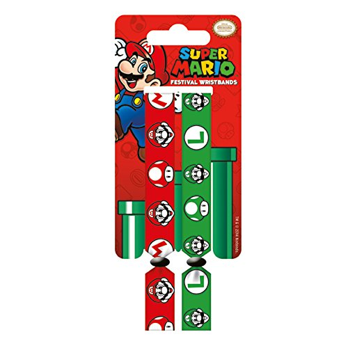 Adventure Time Bracelet Super Mario pour garçon - Multicolore - 10 mm