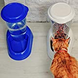 Ferplast 71970099W1 Futterspender ZENITH, für Katzen und Hunde, Maße: 29,2 x 20,2 x 28,8 cm, 3 Liter, weiss - 4