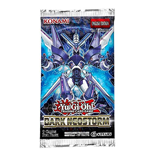 Mint YuGiOh Dark Neostorm Booster Pack