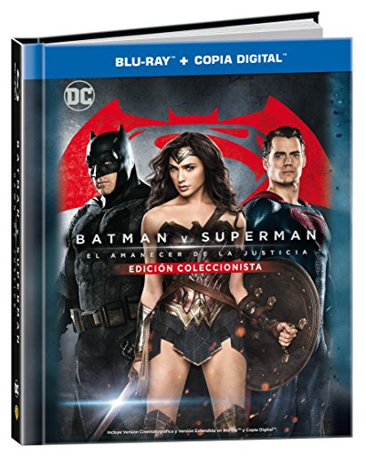 Batman V Superman: El Amanecer De La Justicia Blu-Ray + Copia Digital Digibook [Blu-ray]