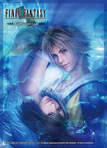 Square Enix sqc0015–Final Fantasy X Sleeves Tidus, Carte da Gioco