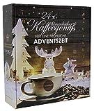 Kaffee Adventskalender mit 24 Türchen - 24 x verschiedener Röstkaffee - 24 x 15 g Kaffee - 360 g gemahlener Kaffee von Querfee