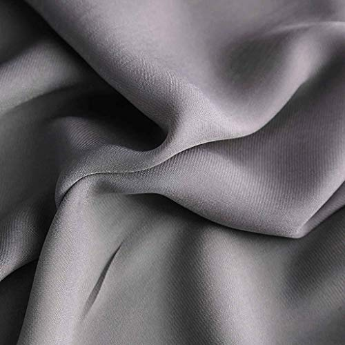 PLEASUR Sheer Voile Curtain, Soft Window Treatment with Grommets Blackout Curtain Privacy Protection Thick Drapes Suitable for Patio Living Room Bedroom-250x200cm(98x79inch)-E 1 Panel