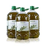 JAVIOLIVA - ACEITE DE OLIVA VIRGEN EXTRA - variedad Picual - Caja de 3 garrafas de 5 Litros
