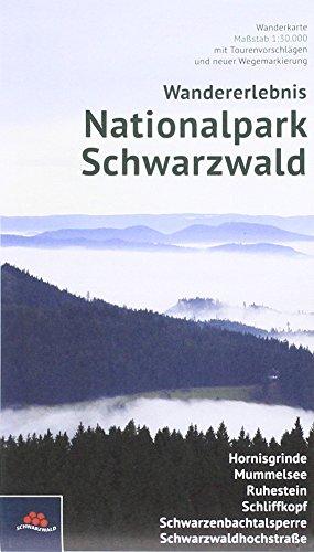 Wandererlebnis Nationalpark Schwarzwald: Wanderkarte Maßstab 1:30.000