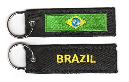 Schlüsselanhänger Brasilien Anhänger Fahne Flagge NEU