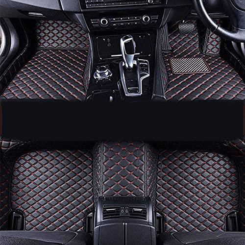 Cobertura Completa Cuero Coche Alfombrillas Aplicar para Chevrolet Captiva 5seat 2007-2012, Personalizadas Para Todo Tipo De Clima Antideslizante Impermeable ProteccióN Moquetas