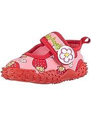Playshoes Zapatillas de Playa con Protección UV Fresas, Zapatos de Agua Niñas