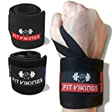 Wrist Wraps Weightlifting - 18' Professional Grade Wrist Brace for Working Out - Wrist Support...