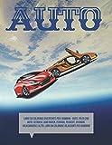 Libro da colorare divertente per i bambini - Auto. Più di 200 auto: Citroen, Land Rover, Ferrari, Peugeot, Hyundai, Volkswagen e altri. Libri da colorare rilassanti per bambino