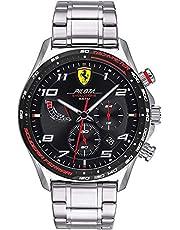 Scuderia Ferrari Orologio Quarzo con Cinturino in Acciaio Inox 830720