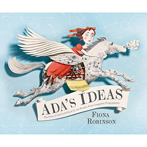 Ada's Ideas audiobook cover art