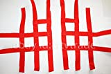NERF Bar fussgi tter nervios Bar Red textil Shin Shineray 250stxe Nets Foot Peg ATV Quad Rojo