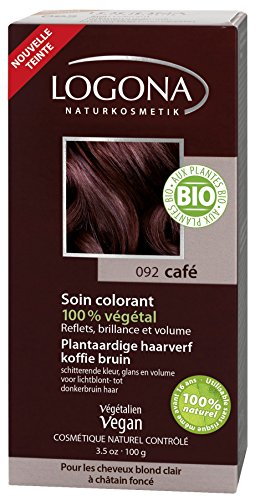 Logona Cuidado del tinte 100 g de café, BIO