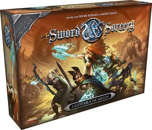 Asmodee Sword & Sorcery, Grundspiel, Expertenspiel, Dungeon Crawler, Deutsch