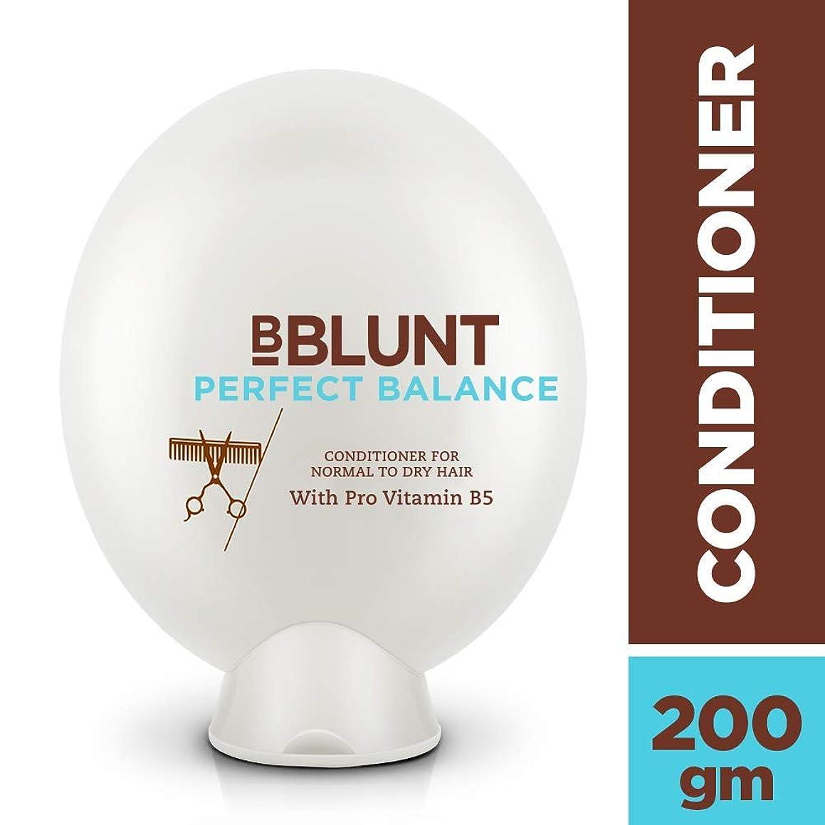 潤滑するサスティーン人種BBLUNT Perfect Balance Conditioner for Normal To Dry Hair, 200g (Provitamin B5)