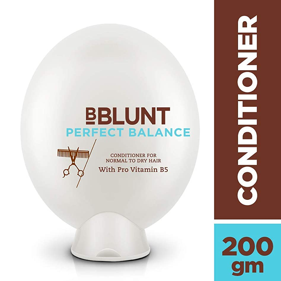 抑止する運動する傾向BBLUNT Perfect Balance Conditioner for Normal To Dry Hair, 200g (Provitamin B5)