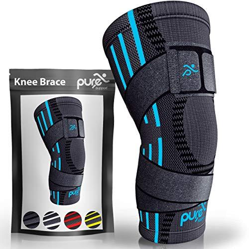 Kniebandage Kompressionsbandage   Patella-Stabilisator bei Meniskusriss   Arthritis-Schmerzen beim Laufen   Gurt   Sport   Damen   Herren