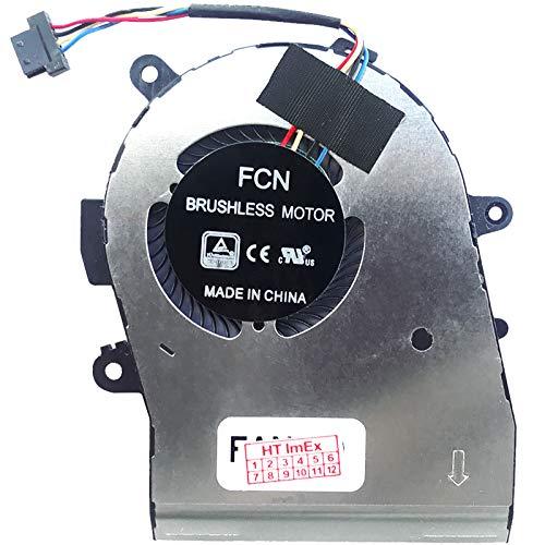 Ventilador de refrigeración (GPU) compatible con HP Elitebook x360 1040 G6 (i5-8265U), 1040 G6 (UHD Graphics 620), 1040 G6