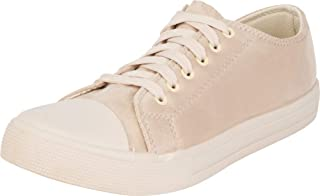 Cambridge Select Women's Classic Round Cap Toe Lace-Up Fashion Sneaker