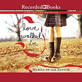 Love Walked In                   By:                                                                                                                                 Marisa de los Santos                               Narrated by:                                                                                                                                 Jennifer Ikeda                      Length: 11 hrs and 40 mins     242 ratings     Overall 3.9