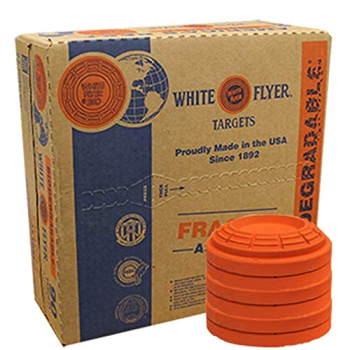 2 Cases of White Flyer Biodegradable Targets, 180 Count (YeSS Global Uses Custom Packaging to Help Stop Breakage During Shipping)