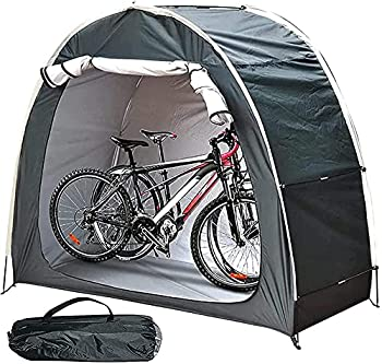 Tente de vélo de Rangement Pliable, abri de Rangement de vélo étanche extérieur Portable, abri de Rangement d'outils de Piscine de Jardin de pelouse