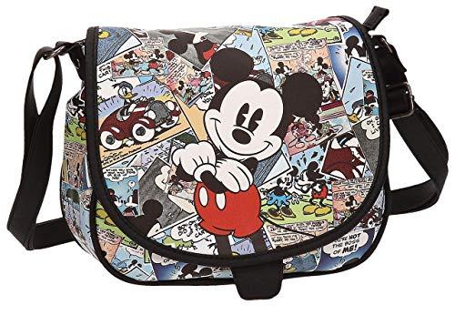 Disney Mickey Comic Bolso Bandolera, 26.68 litros, Color